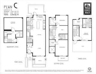 Photo 4: 14 244 E 5TH STREET in North Vancouver: Lower Lonsdale Townhouse for sale : MLS®# R2062153
