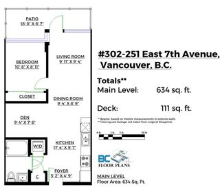 Photo 2: 302 251 E 7TH AVENUE in Vancouver: Mount Pleasant VE Condo for sale (Vancouver East)  : MLS®# R2126786