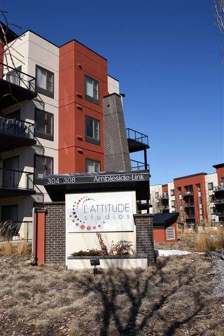 Main Photo: 208 304 AMBLESIDE Link in Edmonton: Zone 56 Condo for sale : MLS®# E4186788