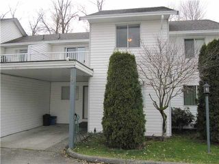 Photo 1: 10 12075 207A Street in Maple Ridge: Northwest Maple Ridge Townhouse for sale : MLS®# V935682