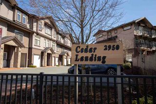 "Photo 1: 7 2950 LEFEUVRE Road in Abbotsford: Aberdeen Townhouse for sale in ""Cedar Landing"" : MLS®# R2462151"