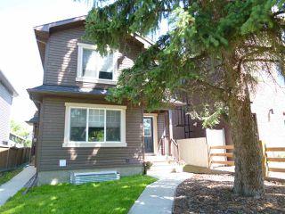 Main Photo: 10914 71 Avenue in Edmonton: Zone 15 House Half Duplex for sale : MLS®# E4205388
