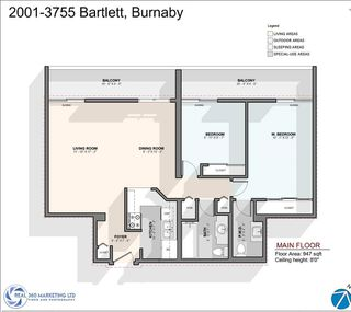 "Photo 25: 2001 3755 BARTLETT Court in Burnaby: Sullivan Heights Condo for sale in ""Timberlea"" (Burnaby North)  : MLS®# R2507465"