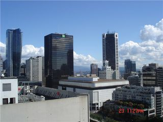 Photo 1: 1916 938 SMITHE Street in Vancouver: Downtown VW Condo for sale (Vancouver West)  : MLS®# V970603