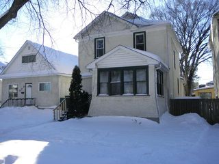 Main Photo: 608 Alverstone Street in WINNIPEG: West End / Wolseley Residential for sale (West Winnipeg)  : MLS®# 1304476