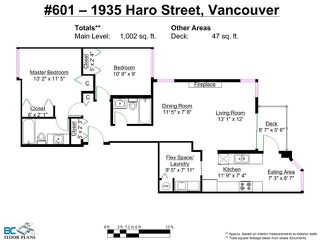 "Photo 10: # 601 1935 HARO ST in Vancouver: West End VW Condo for sale in ""SUNDIAL AT THE PARK"" (Vancouver West)  : MLS®# V1008642"