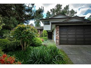 Photo 1: 4869 COLBROOK Court in Burnaby South: Deer Lake Place Home for sale ()  : MLS®# V1007008