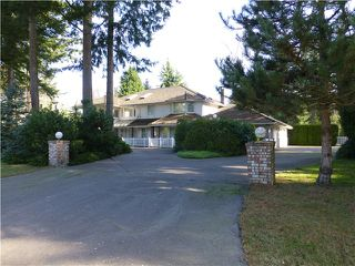 Photo 2: 2462 139TH ST in Surrey: Elgin Chantrell House for sale (South Surrey White Rock)  : MLS®# F1432900