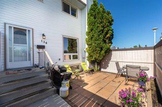 Photo 1: 134 MARLBOROUGH Place in Edmonton: Zone 20 Townhouse for sale : MLS®# E4194613