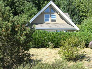 "Main Photo: 6420 MARMOT Road in Sechelt: Sechelt District House for sale in ""PORPOISE BAY ESTATES"" (Sunshine Coast)  : MLS®# V1021626"