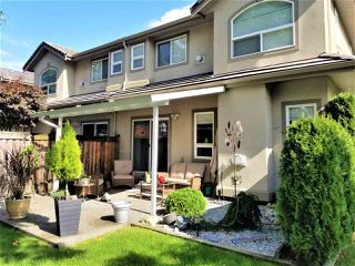 """Photo 2: 9 998 RIVERSIDE Drive in Port Coquitlam: Riverwood Townhouse for sale in """"PARKSIDE PLACE"""" : MLS®# R2408047"""