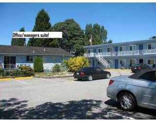Photo 1: Hotel/Motel with property in Tsawwassen in Delta: Business with Property for sale (Tsawwassen)