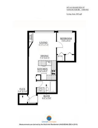 Photo 15: 907 819 HAMILTON STREET in 8-1-9 HAMILTON: Home for sale