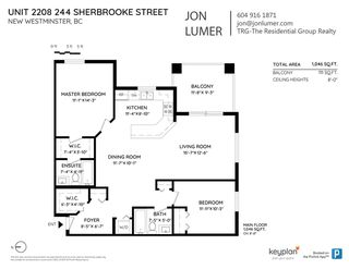 "Photo 21: 2208 244 SHERBROOKE Street in New Westminster: Sapperton Condo for sale in ""COPPERSTONE"" : MLS®# R2466979"