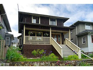 """Photo 1: 1718 COTTON Drive in Vancouver: Grandview VE House for sale in """"Commercial Drive"""" (Vancouver East)  : MLS®# V1009711"""
