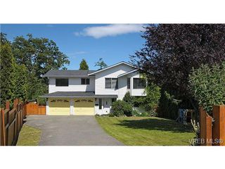 Photo 1: 1270 Lidgate Crt in VICTORIA: SW Strawberry Vale Single Family Detached for sale (Saanich West)  : MLS®# 643808