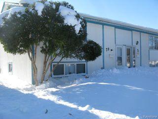 Main Photo: 73 George Suttie Bay in WINNIPEG: East Kildonan Single Family Attached for sale (North East Winnipeg)  : MLS®# 1402977