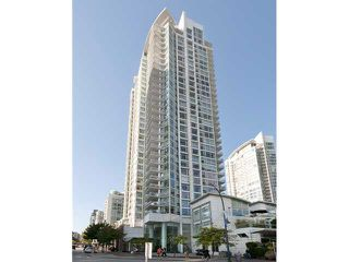 """Main Photo: 2605 1199 MARINASIDE Crescent in Vancouver: Yaletown Condo for sale in """"AQUARIUS"""" (Vancouver West)  : MLS®# V1082576"""