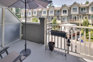Photo 12: 31 3395 GALLOWAY AVENUE in Coquitlam: Burke Mountain Townhouse for sale : MLS®# R2097074