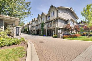 Photo 1: 31 3395 GALLOWAY AVENUE in Coquitlam: Burke Mountain Townhouse for sale : MLS®# R2097074