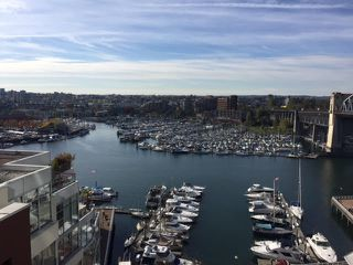 Main Photo: 1102-1000 Beach in Vancouver: Yaletown False Creek Condo for rent (Downtown Vancouver)