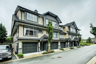 "Photo 1: 102 13819 232 Street in Maple Ridge: Silver Valley Townhouse for sale in ""Brighton"" : MLS®# R2403992"