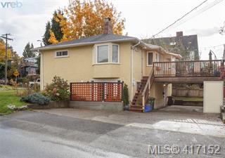 Main Photo: 613 Marifield Avenue in Victoria: Vi James Bay Single Family Detached for sale : MLS®# 417152