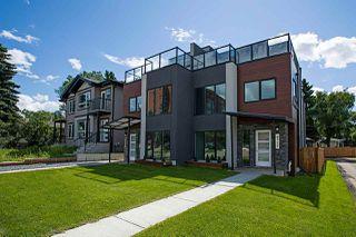 Photo 1: 9329 CONNORS Road in Edmonton: Zone 18 House Half Duplex for sale : MLS®# E4206953