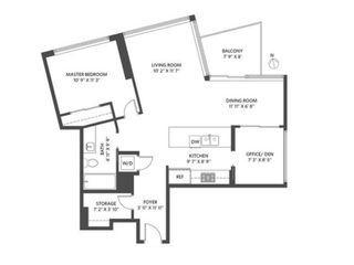 """Photo 15: 2505 1372 SEYMOUR Street in Vancouver: Downtown VW Condo for sale in """"The Mark - Onni"""" (Vancouver West)  : MLS®# R2504998"""