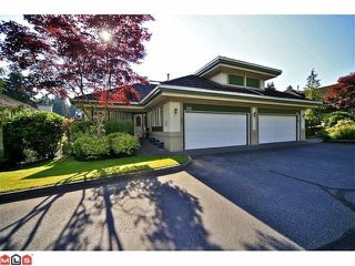 "Photo 1: 102 4001 OLD CLAYBURN Road in Abbotsford: Abbotsford East Townhouse for sale in ""CEDAR SPRINGS"" : MLS®# F1306251"