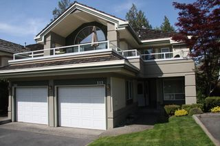 Photo 1: 113 4001 Old Clayburn Road in Abbotsford: Townhouse for sale : MLS®# R2280148