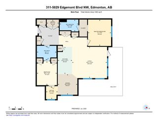 Photo 40: 311 5029 EDGEMONT Boulevard in Edmonton: Zone 57 Condo for sale : MLS®# E4204587