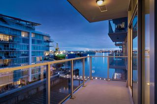 "Photo 1: 602 175 VICTORY SHIP Way in North Vancouver: Lower Lonsdale Condo for sale in ""CASCADE AT THE PIER"" : MLS®# R2498097"