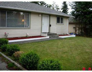 Photo 1: 15461 18TH AV in Surrey: King George Corridor Home for sale ()  : MLS®# F2719597
