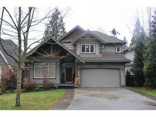 "Main Photo: 10508 BAKER Place in Maple Ridge: Albion House for sale in ""MAPLECREST"" : MLS®# V988943"