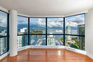 "Main Photo: 2202 1415 W GEORGIA Street in Vancouver: Coal Harbour Condo for sale in ""PALAIS GEORGIA"" (Vancouver West)  : MLS®# R2405741"