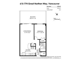 Photo 18: 615 774 GREAT NORTHERN Way in Vancouver: Mount Pleasant VE Condo for sale (Vancouver East)  : MLS®# R2417520