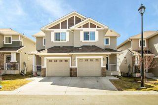 Photo 1: #14 5317 3 Avenue in Edmonton: Zone 53 House Half Duplex for sale : MLS®# E4196686
