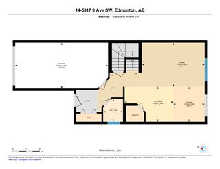 Photo 46: #14 5317 3 Avenue in Edmonton: Zone 53 House Half Duplex for sale : MLS®# E4196686