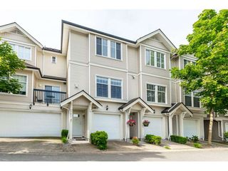 """Photo 1: 27 21535 88 Avenue in Langley: Walnut Grove Townhouse for sale in """"REDWOOD LANE"""" : MLS®# R2467866"""