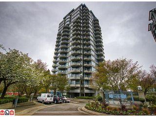 """Photo 1: 808 13353 108TH Avenue in Surrey: Whalley Condo for sale in """"CORNERSTONE 2"""" (North Surrey)  : MLS®# F1215598"""