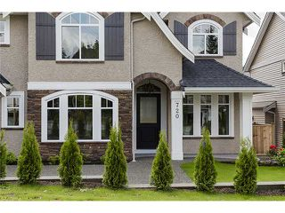 Photo 2: 720 COMO LAKE Avenue in Coquitlam: Coquitlam West House for sale : MLS®# V1072916