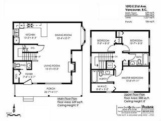 Photo 20: 1093 E 21ST AV in Vancouver: Fraser VE Condo for sale (Vancouver East)  : MLS®# V1123406