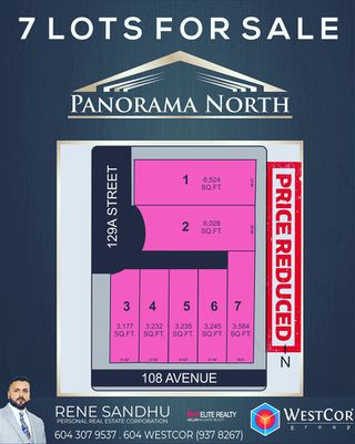 """Photo 1: 12971 108 Avenue in Surrey: Whalley Land for sale in """"Panorama North"""" (North Surrey)  : MLS®# R2402945"""