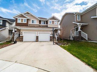 Photo 1: 1293 Starling Drive in Edmonton: Zone 59 House Half Duplex for sale : MLS®# E4197997