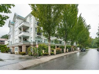 """Photo 1: 109 55 BLACKBERRY Drive in New Westminster: Fraserview NW Condo for sale in """"QUEENS PARK PLACE"""" : MLS®# R2465375"""
