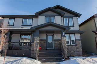 Main Photo: 3825 170A Avenue in Edmonton: Zone 03 House Half Duplex for sale : MLS®# E4191921