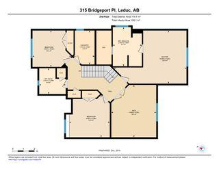 Photo 45: 315 Bridgeport Place N: Leduc House for sale : MLS®# E4196300