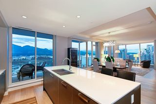Photo 11: 2802 1499 W Pender St. Vancouver,温哥华市中心,Coal Harbour, large condo,大户型公寓