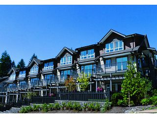 "Photo 1: 102 1480 SOUTHVIEW Street in Coquitlam: Burke Mountain Townhouse for sale in ""CEDAR CREEK"" : MLS®# V1011479"